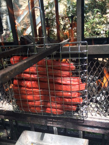 Test du barbecue vertical biogrill le beablog - Comment nettoyer la grille du barbecue ...